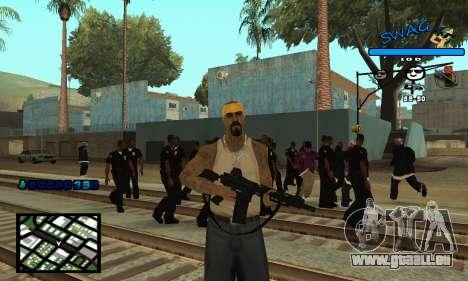 C-HUD SWAG für GTA San Andreas