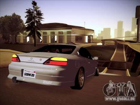 Nissan Silvia S15 Stanced pour GTA San Andreas vue de droite