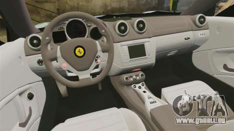Ferrari California für GTA 4 Seitenansicht