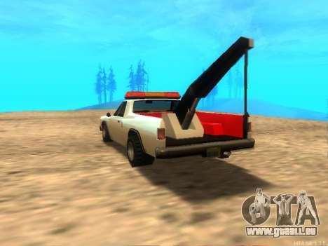 Neue Schlepptau (Picador) für GTA San Andreas zurück linke Ansicht
