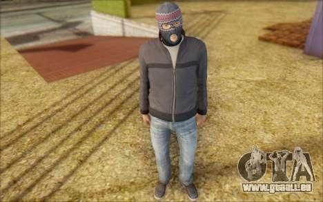 Russian Thug pour GTA San Andreas deuxième écran