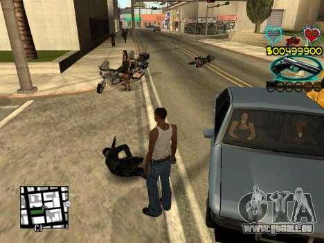 C-HUD Guns für GTA San Andreas siebten Screenshot