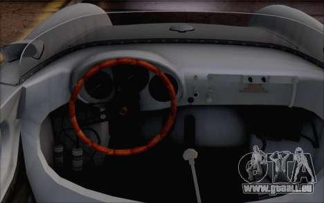 Porsche 550 Spyder 1955 für GTA San Andreas rechten Ansicht