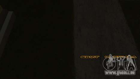 Neue schriftart V.2 für GTA San Andreas fünften Screenshot