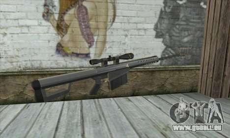 Barrett M82 für GTA San Andreas zweiten Screenshot
