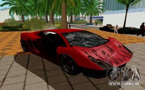GTA 5 Pegassi Vacca pour GTA San Andreas vue intérieure
