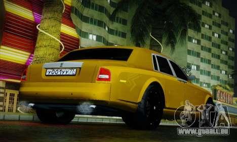 Rolls-Royce Phantom für GTA San Andreas obere Ansicht
