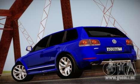 Volkswagen Touareg 2010 pour GTA San Andreas vue de droite