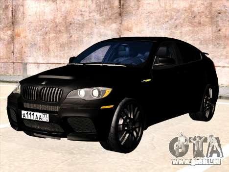 BMW X6 Hamann für GTA San Andreas Seitenansicht