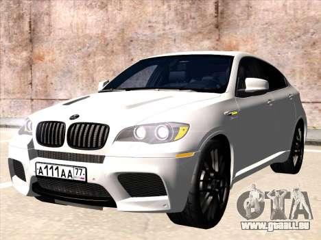 BMW X6 Hamann pour GTA San Andreas