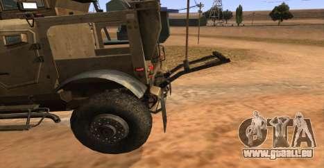 M-ATV из Call of Duty: Geister für GTA San Andreas rechten Ansicht