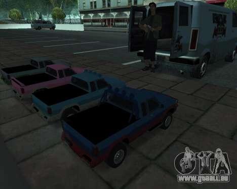 RC Pickup Off Road pour GTA San Andreas vue de droite