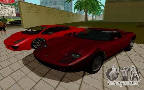 GTA 5 Pegassi Vacca pour GTA San Andreas vue arrière