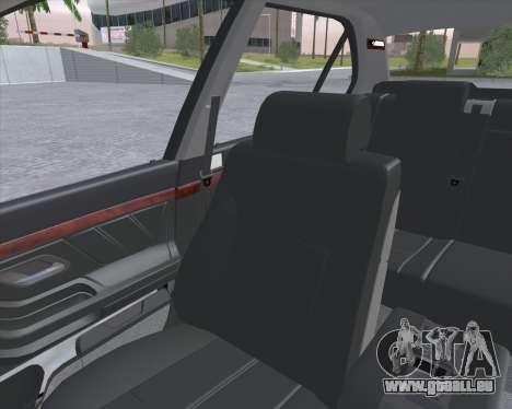 BMW 7-series E38 pour GTA San Andreas vue arrière
