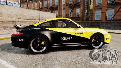 Porsche 911 Sport Classic 2010 RACE für GTA 4 linke Ansicht