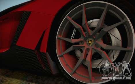 Lamborghini Aventador LP720-4 2013 für GTA San Andreas zurück linke Ansicht