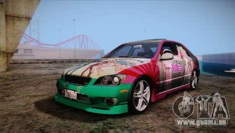 Toyota Altezza Sakura Miku Itasha für GTA San Andreas