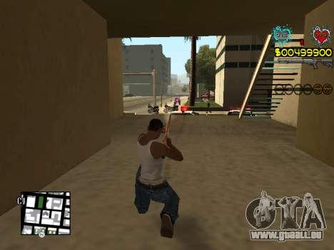 C-HUD Guns pour GTA San Andreas neuvième écran