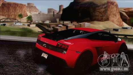 Lamborghini Gallardo LP570-4 Edizione Tecnica pour GTA San Andreas vue de droite