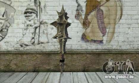 Daedric Sword pour GTA San Andreas