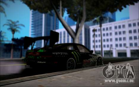 Nissan 240SX Monster Energy pour GTA San Andreas sur la vue arrière gauche