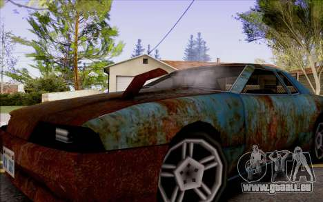 Elegy by Swizzy pour GTA San Andreas vue de droite