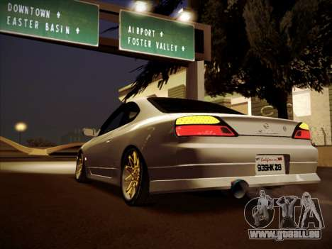 Nissan Silvia S15 Stanced für GTA San Andreas linke Ansicht