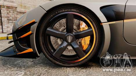 Koenigsegg One:1 [EPM] pour GTA 4 Vue arrière