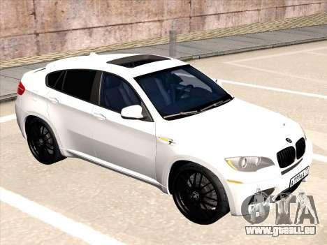 BMW X6 Hamann für GTA San Andreas rechten Ansicht