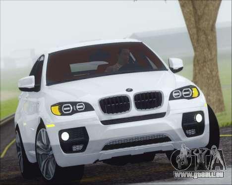 BMW X6 M 2013 Final pour GTA San Andreas