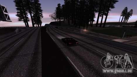 New Roads v3.0 Final pour GTA San Andreas deuxième écran