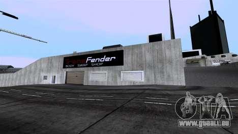 New Wang Cars pour GTA San Andreas deuxième écran