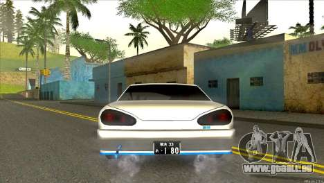 Elegy Neli für GTA San Andreas zurück linke Ansicht