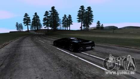 New Roads v1.0 pour GTA San Andreas cinquième écran