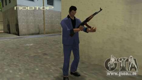 Kalachnikov Modernisé pour GTA Vice City le sixième écran