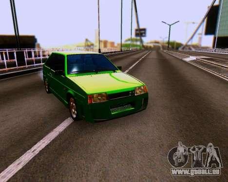 VAZ 2108 Tuneable für GTA San Andreas Seitenansicht