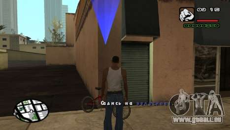 Neue schriftart V.2 für GTA San Andreas sechsten Screenshot