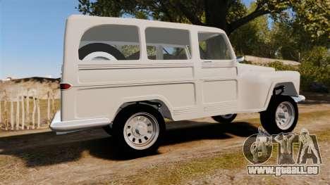 Rural Willys für GTA 4 linke Ansicht