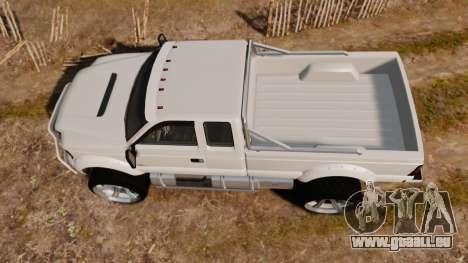 GTA V Vapid Sandking XL wheels v1 für GTA 4 rechte Ansicht