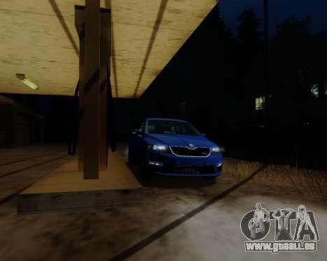 Skoda Octavia A7 RS pour GTA San Andreas laissé vue