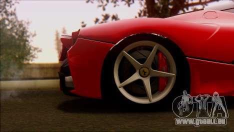 Ferrari LaFerrari 2014 für GTA San Andreas rechten Ansicht