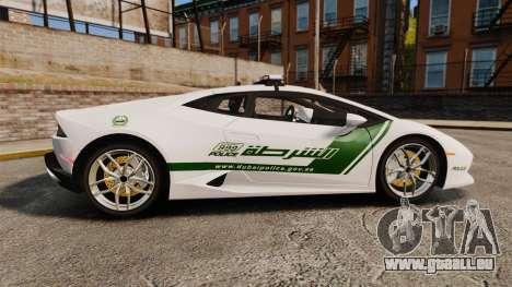 Lamborghini Huracan Cop [ELS] für GTA 4 linke Ansicht