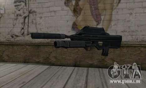 SC-20K Assault Rifle pour GTA San Andreas
