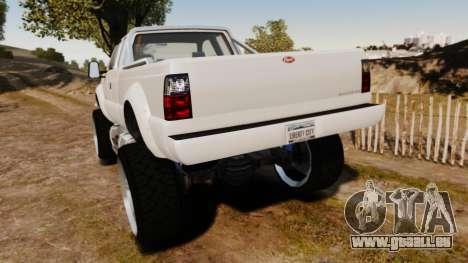 GTA V Vapid Sandking XL wheels v1 pour GTA 4 Vue arrière de la gauche