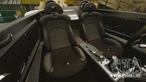 Pagani Zonda C12 S Roadster 2001 PJ4 für GTA 4 Seitenansicht