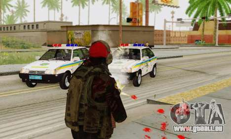 Blood On Screen für GTA San Andreas her Screenshot