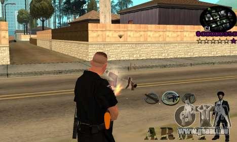 C-HUD Army für GTA San Andreas zweiten Screenshot