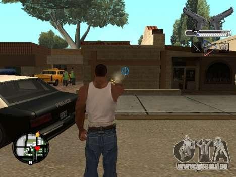 С-HUD par MoLoT pour GTA San Andreas deuxième écran