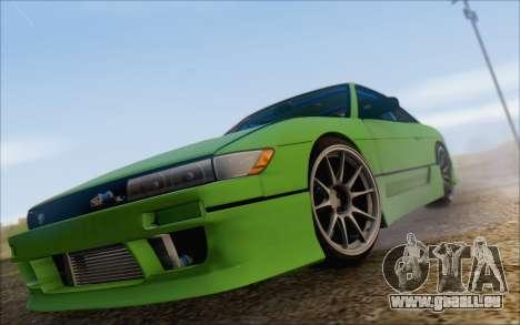 Nissan Silvia S13 Vertex für GTA San Andreas Innenansicht