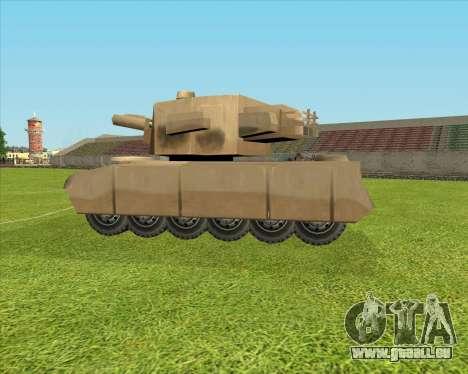 Rhino tp. Destructeur V.2 pour GTA San Andreas laissé vue